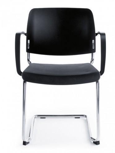 Krzesło konferencyjne Bit 550V chrom 2P