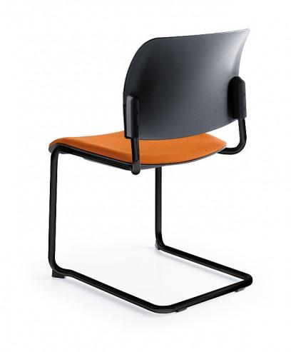 Krzesło konferencyjne Bit 560V czarny