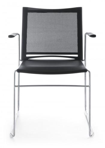 Krzesło konferencyjne ARIZ 555V chrom 2P