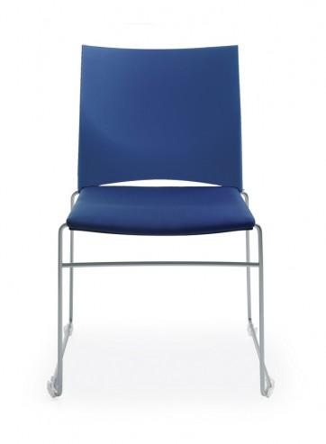 Krzesło konferencyjno-audytoryjne ARIZ 560V metalik
