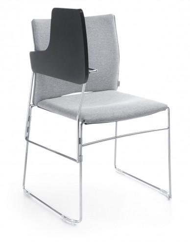Krzesło konferencyjno-audytoryjne ARIZ 570V chrom B