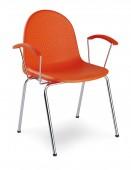 Krzesło Amigo arm chrome K33