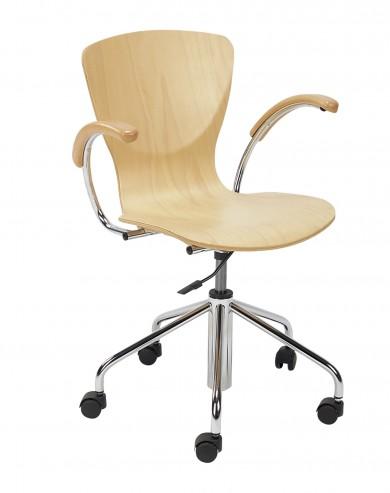 Krzesło obrotowe Bingo wood GTP