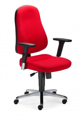 Krzesło obrotowe Bizzi R15K chrome steel36 chrome ActiveIN YN079