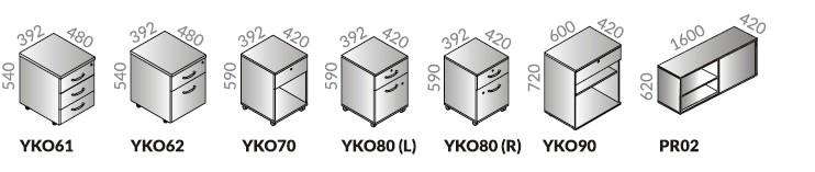 Bryły dostępne w systemach Opty