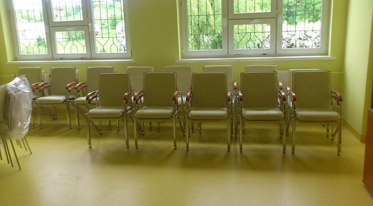 Krzesła konferencyjne Samba chrome