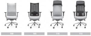 Dostępne modele foteli Action