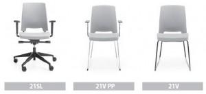 Dostępne modele krzesła Arca
