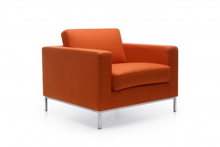 Fotel EXEC 10H satyna