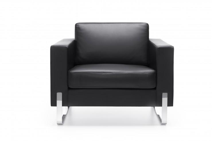 Fotel EXEC 10V chrom