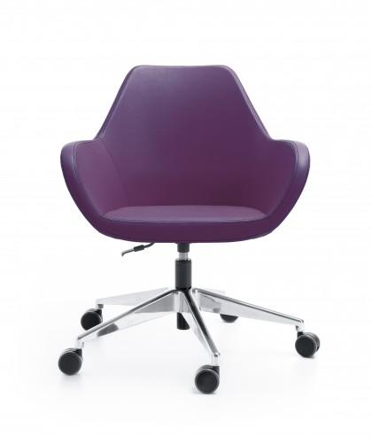 Krzesło konferencyjne FAN 10E chrom