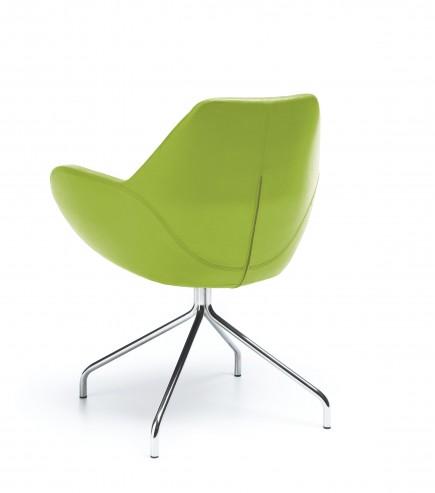 Krzesło konferencyjne FAN 10H chrom SL23