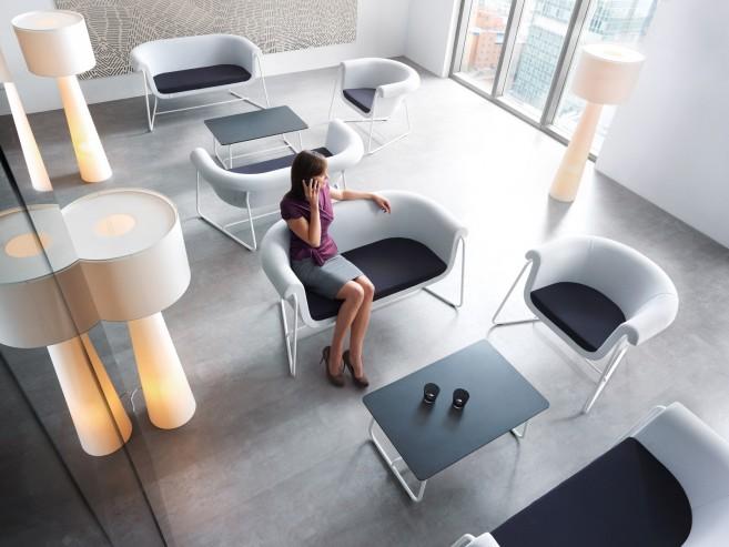 System siedzisk recepcyjnych Hover