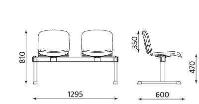 Wymiary ławki Iso