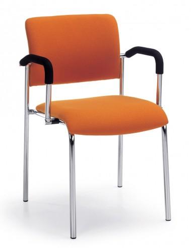 Krzesło konferencyjne Komo H chrom 2P