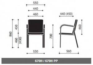 Krzesła konferencyjne Kala wymiary (3)