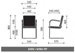 Krzesła konferencyjne Kala wymiary (4)