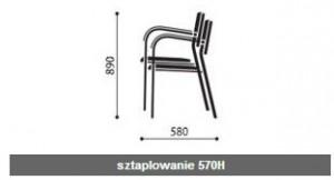 Krzesła konferencyjne Kala wymiary (5)