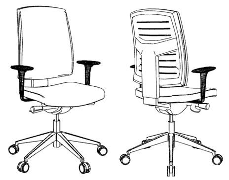 Krzesło obrotowe RAYA