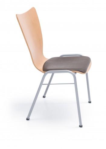 Krzesło stacjonarne Ligo K21 H metallic_bok