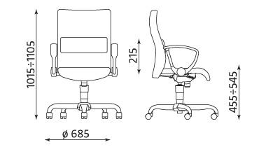 Wymiary krzesła Neo