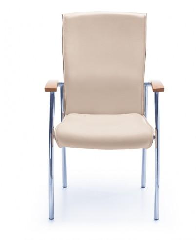 Krzesło konferencyjne NIKO 71H chrom