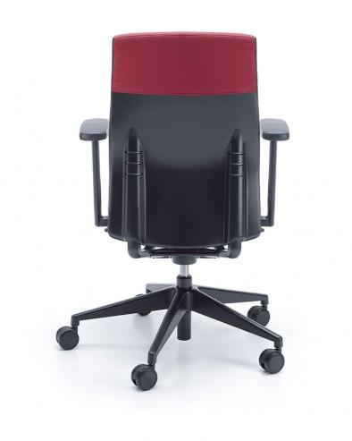 Krzesło obrotowe ONE 11SL P41 czarny tył