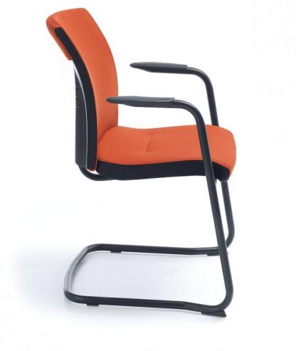 Krzesło konferencyjne ONE 21V czarny