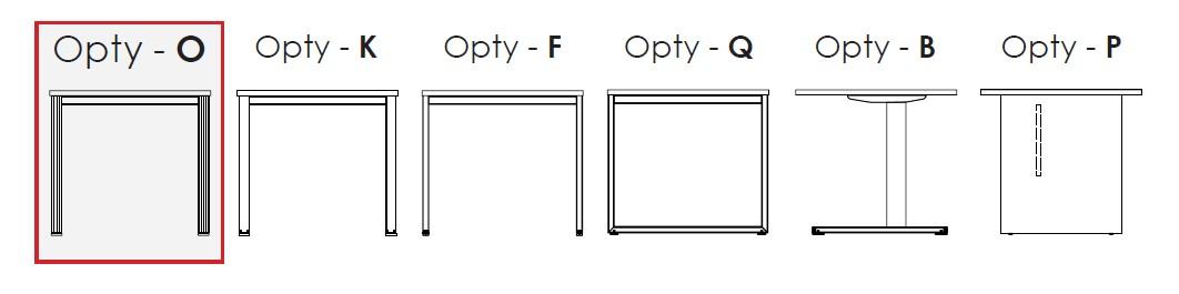 Opty dostępne rodzaje podstaw biurek pracowniczych