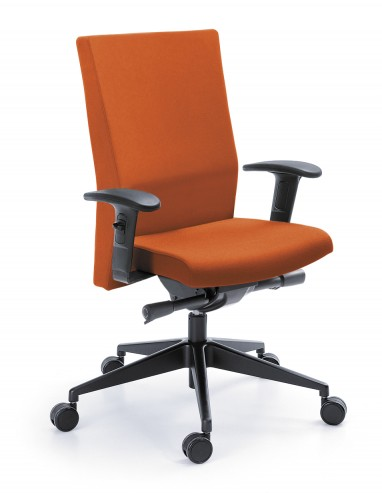 Krzesło PLAYA 11SL Czarny P45PU_EV-4