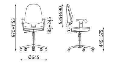 Wymiary krzesła Prestige