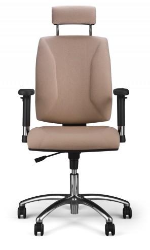 Krzesło obrotowe Quatro HR R2C steel04 chrome Active1 M56 przód