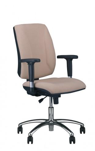 Krzesło obrotowe Quatro R2C steel04 chrome Active1 M56