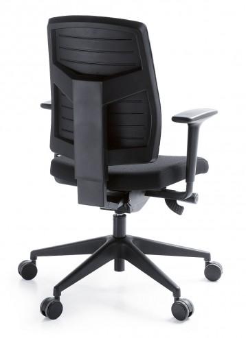 Krzesło obrotowe RAYA 21SL czarny P51PU