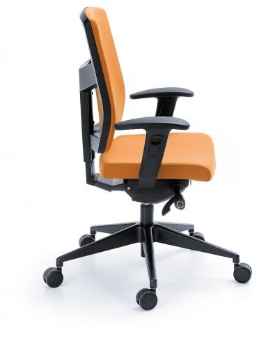Krzesło obrotowe RAYA 23SL czarny P49PU