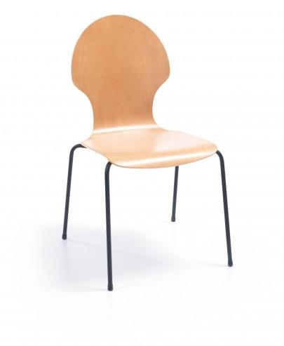 Krzesło Resso K12 H black_przod