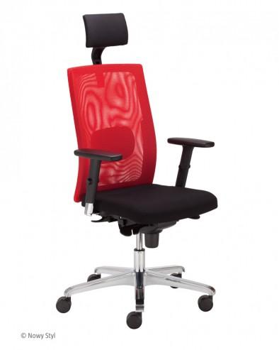Krzesło obrotowe SIT NET HRU LU R15K chrome steel36 chrome