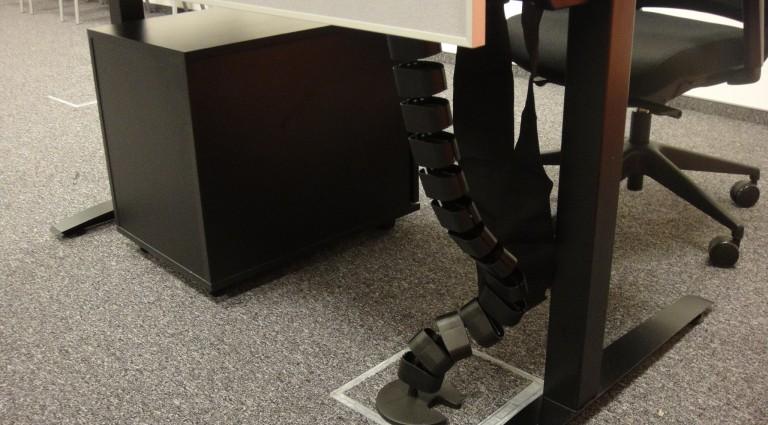 Stanowiska Call center   elestyczny kręgosłup kablowy