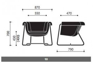 System siedzisk Hover wymiary (1)