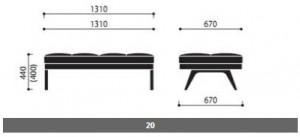 System sof i foteli October wymiary (2)
