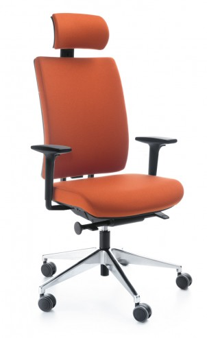 Krzesło obrotowe VERIS 11SFL P51PU chrom