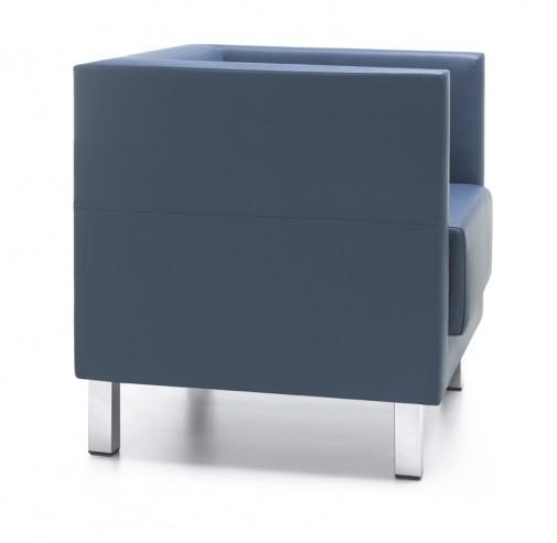 Fotel Vancouver Lite 1 H chrome