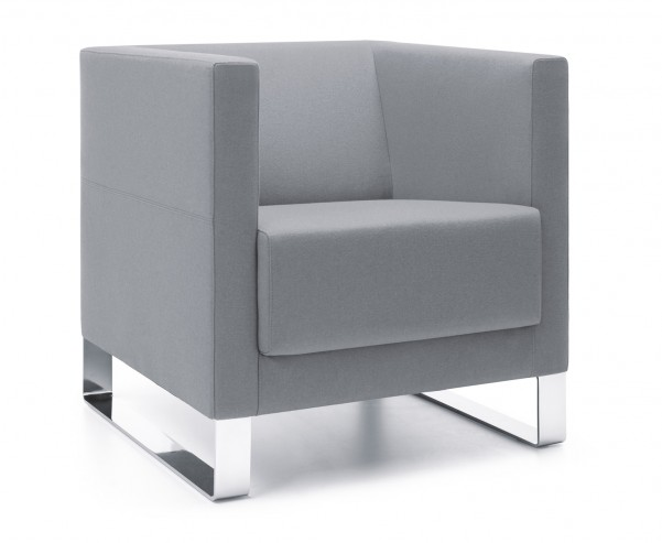 Fotel Vancouver Lite 1 V chrome