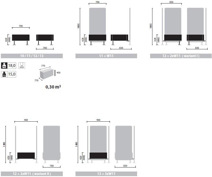 Wall In ścianki i siedziska recepcyjne wymiary (1)