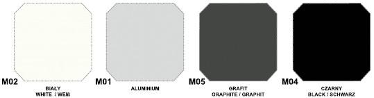 Wzornik kolorystyczny metali maro