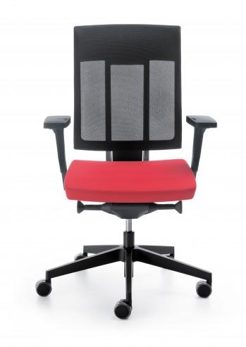Krzesło obrotowe Xenon NET 100S czarny P59PU