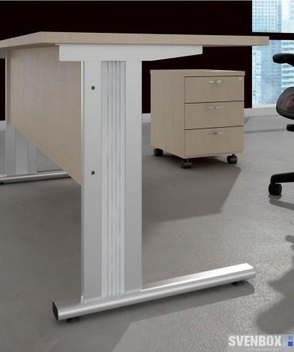 Tanie meble biurowe Vik noga biurka