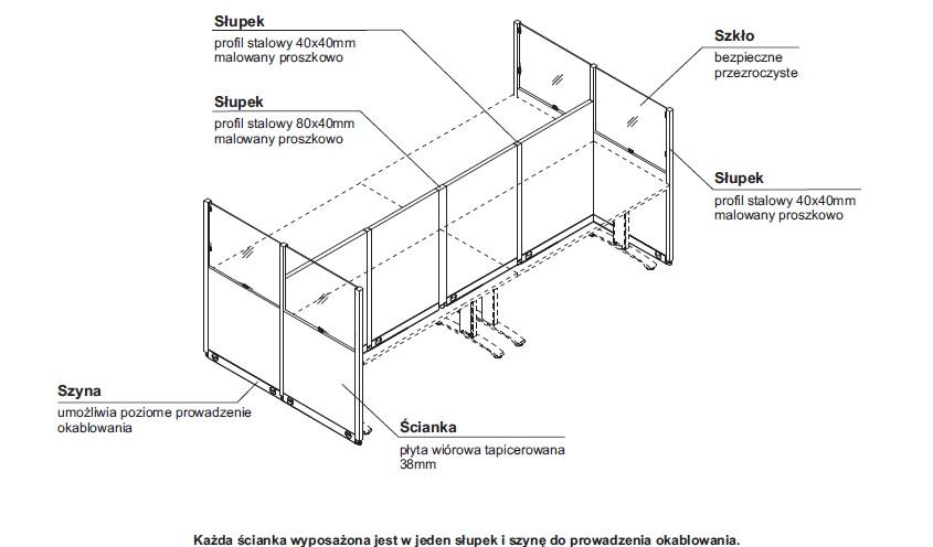 Ścianki działowe MDD (2)