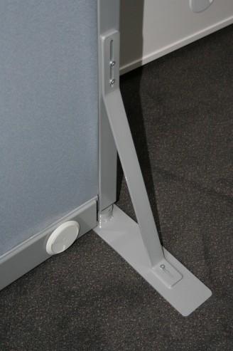 Ścianki działowe MDD stopa stabilizująca