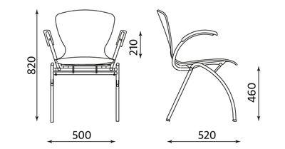 Wymiary krzesła Bingo